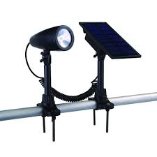Home Depot Outdoor Solar Lights Hampton Bay Black Solar Led Flag Light 93940 The Home Depot