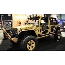 07 jeep wrangler rugged ridge 11509 10 front doors textured black 07 15 jeep