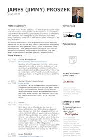 Mba Resume Format by Brand Ambassador Resume The Best Letter Sample