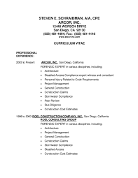 Construction Superintendent Resume Examples Construction Expert Witness Resume Virtren Com