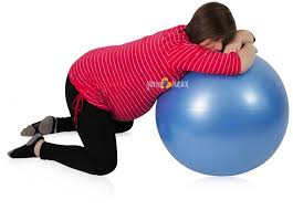 Sitting On A Medicine Ball At Desk 7 Easy Exercises For An Optimal Pregnancy U0026 Labor