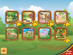 dinosaurs puzzles for kids android apps on google play