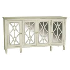 Pulaski Console Table Pulaski Florence Mirrored Storage Console Hayneedle