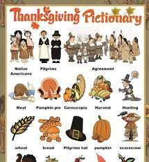 resultado de imagem para thanksgiving vocabulary activities