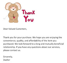 business thank you letter to customer 28 images 6 business