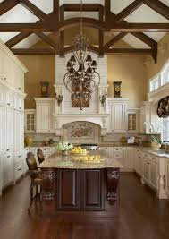 Cozy Kitchen Designs Fireplace Cozy Kitchen Design With Lafata Cabinets Plus Marble