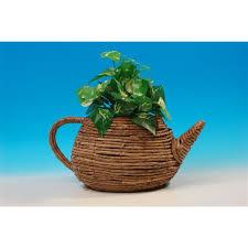 teapot planter large buy online at qd stores