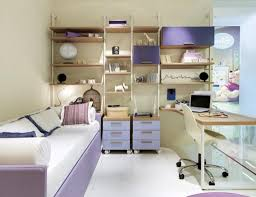 Small Bedroom With Desk Design Small Bedroom Desks For Modern With Bookshelves And Drawers On Bed