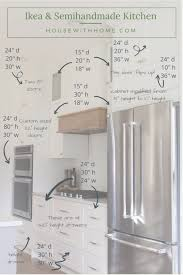 ikea kitchen wall cabinets height a comprehensive list of the sizes of our kitchen s ikea