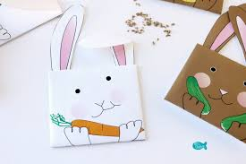 seed envelopes printable bunny seed packet envelopes for easter or