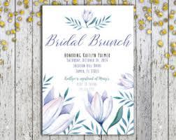bridal brunch invite bridal brunch invite etsy