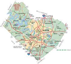 Map Of Austin Tx Freestanding Emergency Departments Vep Healthcare