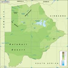 angola physical map botswana physical map eps illustrator map our cartographers