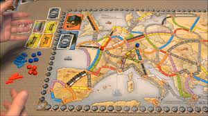 Europe Map Games by Dga Reviews Ticket To Ride Europe Europa 1912 Expansion Ep