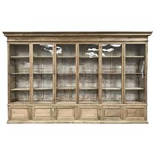 French Antique Bookcase Monumental Antique French Oak Hand Carved Hunters Bookcase 19th
