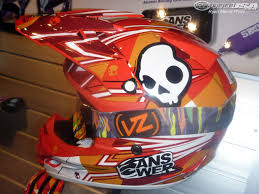 skullcandy motocross gear 2011 helmet peek from the dealer expo photos motorcycle usa