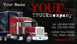 trucking company business card black business cards weddin flickr