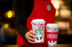 starbucks 2017 holiday cups meant coloring cmo strategy