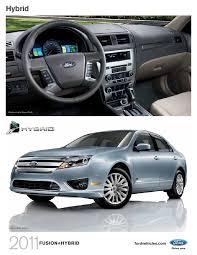 2011 Ford Fusion Interior 2011 Ford Fusion Hybrid