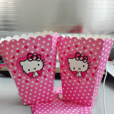Hello Kitty Party Decorations Aliexpress Com Buy 6pcs Set Funny Hello Kitty Party Supplies