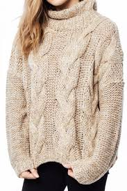 cable sweater cable knit gold sweater