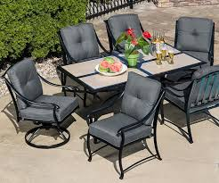 Outdoor Furniture Sale Sears by Sears 260 99 Garden Oasis 7 Pc Dining Set U0026 La Z Boy Deals