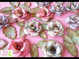 paper roses and butterflies eng series