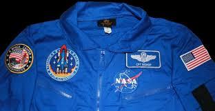 armageddon blue nasa flight suit