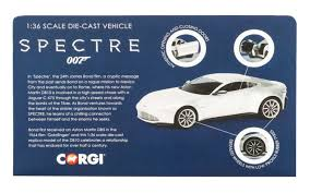 Aston Martin Db10 James Bond S Car From Spectre Amazon Com Corgi 1 36 Scale James Bond 007 Aston Martin Db10 From
