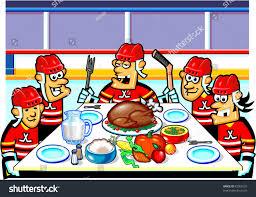 hockey thanksgiving stock vector 92963725