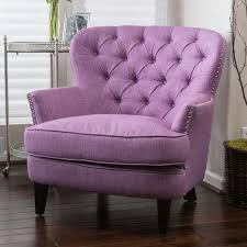 Purple Armchair Audrey Upholstered Club Chair U2013 Noble House Furniture