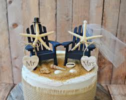 nautical themed wedding cakes cake topper etsy