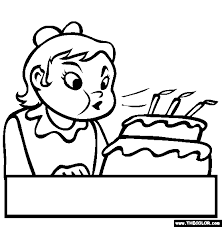 Birthday Online Coloring Pages Page 1 The Color Page