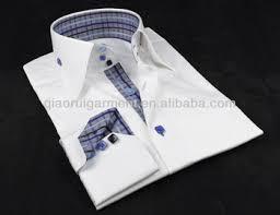 mens fancy high collar three buttons up casual shirt buy men