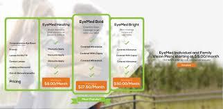 eyemed individual individual u0026 family vision plans