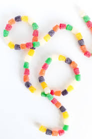edible candy jewelry how to make an edible gumdrop garland for the holidays curbly