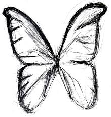opportunities easy pictures of butterflies to draw simple