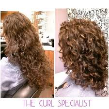 how to cut your own curly hair in layers curly angled bob haircut by the curl whisperer in miami http