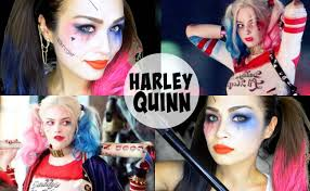 squad harley quinn makeup margot robbie for asian