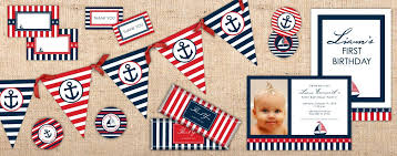 free nautical party printables download u2013 ian u0026 lola design boutique