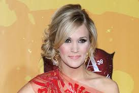 front view of side swept hairstyles carrie underwood s stunning side swept updo how to hairstyles