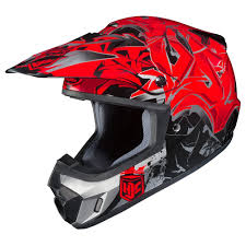 flat black motocross helmet hjc cs mx ii graffed mens dirt bike off road racing motocross