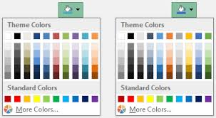 colour themes for excel using colors in excel peltier tech blog