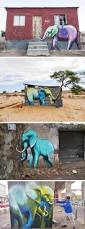 283 best african street art images on pinterest urban art site specific elephant murals on the streets of south africa by falko one