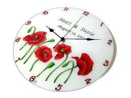 personalized wedding clocks personalized wall clock wedding gift newyorkmovie co