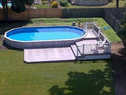15x30 sharkline pool with deck brothers 3 pools aboveground