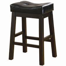 Backless Counter Stool Leather Dining Room Wondrous Black Leather Counter Height Stools Without