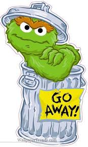 Oscar The Grouch Meme - trash clipart oscar the grouch pencil and in color trash clipart