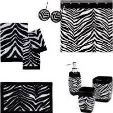 zebra bathroom set zebra print bathroom accessories sets tsc