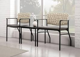 Office Furniture Chairs Waiting Room Tag Stacking Chair Arc Back Upholstered Back Wall Saver Legs